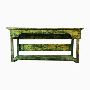 Antique French Wooden Bench