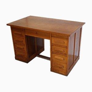 American Oak Desk, 1950s