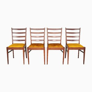 Vintage Dining Chairs, Set of 4