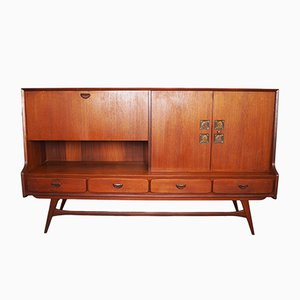 Highboard by Louis van Teeffelen for WéBé, 1960s