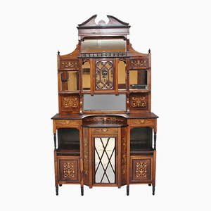 19th-Century Rosewood Cabinet, 1890s