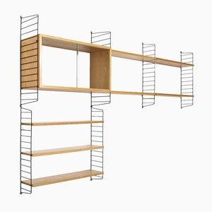 Vintage Wall Unit by Nisse & Kajsa Strinning for string Design AB
