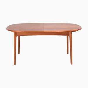 Oval Extendable Dining Table, 1960s