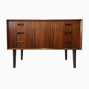 Rosewood Chest of Drawers by Kai Kristiansen, 1960s