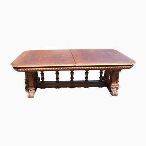 Antique Henry II Style Dining Table