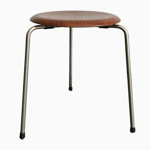 Danish Stool by Arne Jacobsen for Fritz Hansen, 1950s
