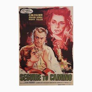 Filmplakat von Seguiré Tu Camino, 1957
