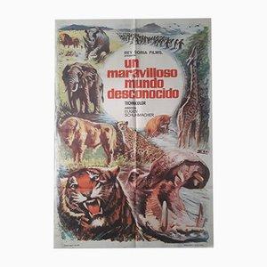 Póster de la película Un maravilloso mundo desconocido, 1969
