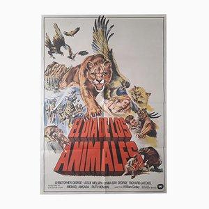 El Dia de Los Animales Film Poster, 1978