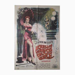 Filmplakat von Avellos Tiempos del Cuple, 1969