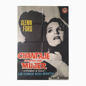 Chantaje Contra Una Mujer Film Poster, 1962