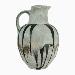 310/3 Gray Brown Jug from Ruscha, 1960s