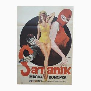 Satanik Film Poster, 1969