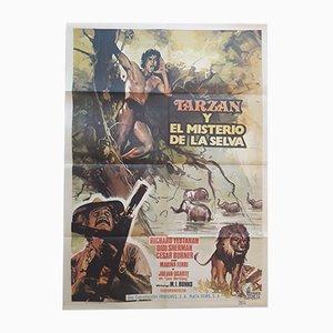 Tarzán y El Misterio de La Selva Film Poster, 1973