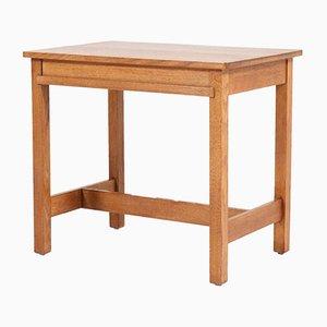 Haagse School Oak Writing Table by Hendrik Wouda for Pander, 1924