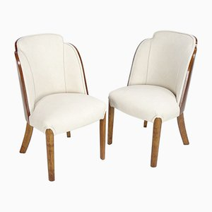 Art Deco Cloud Chairs by Harry and Lou Epstein, 1930s, Set of 2