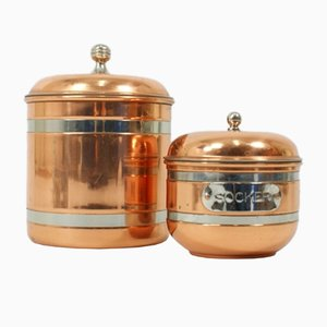 Swedish Containers from Dorre, 1970s, Set of 2