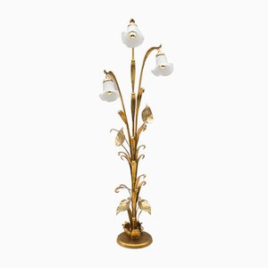 Gold Tree Floor Lamp, 1970s