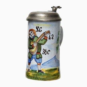 Chope à Bière Début du 19ème Siècle, Allemagne, 1820s