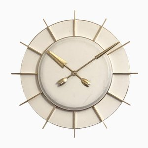 Large Industrial Station Clock by TN Telefonbau Und Normalzeit