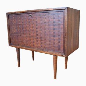 Mueble bar Cado System danés Mid-Century de palisandro de Poul Cadovius, 1965