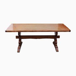 Oak Refectory Table, 1940s