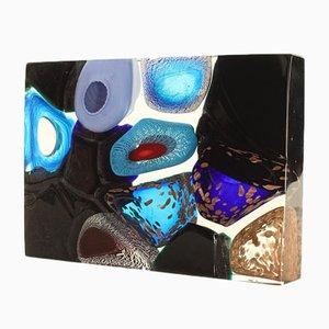 Monolite Medusa blu di Raffael Eros