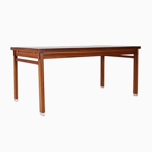 Mid-Century Zebrano Table by Pieter de Bruyne