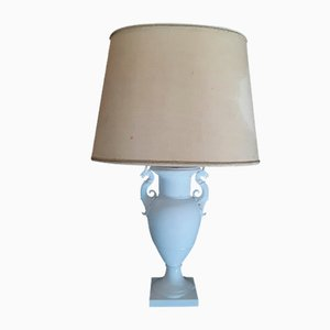 White Porcelain Amphora Table Lamp from KPM Berlin, 1970s
