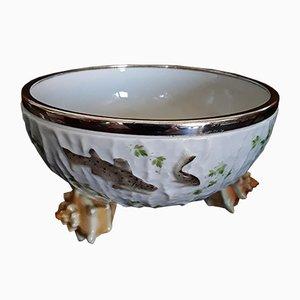 Antike Suppenschale aus Porzellan von WMF