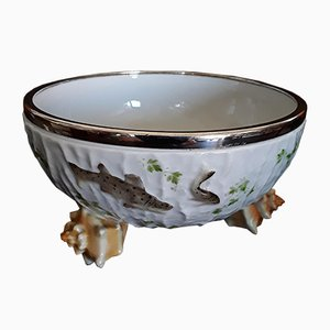 Cuenco para sopa antiguo de porcelana de WMF