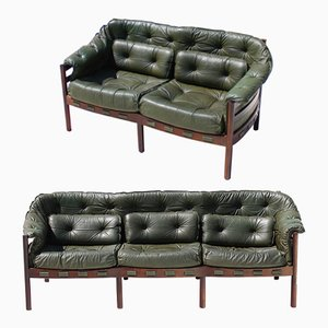 Vintage Sofa & Loveseat Set by Arne Norell for Coja, 1960s