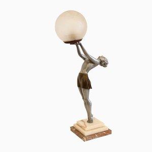 Art Deco Tischlampe von Enrique Molins Balleste, 1930er