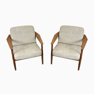 FD-164 Easy Chairs by Arne Vodder for France & Søn, 1960s, Set of 2