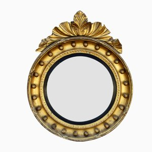 English Regency Gilt Mirror with Decoration, 1915