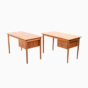 Vintage Desks by Arne Vodder for H.Sigh & Son Spøttrup, 1960s, Set of 2