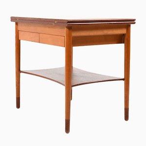 Dänischer Mid-Century Modell 149 Spieltisch aus Teak & Buche von Børge Mogensen für Søborg Møbler, 1950er