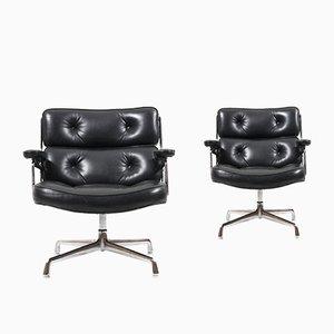 Sillas giratorias ES 105 de Charles & Ray Eames para Herman Miller, años 60. Juego de 2