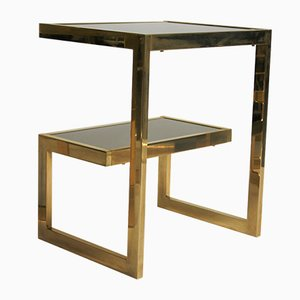 Golden G Side Tables from Belgo Chrom, 1970s, Set of 2