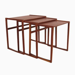 Vintage Nesting Tables Set, 1960s