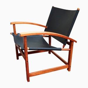 Scandinavian Armchair from Hyllinge Möbler, 1970s