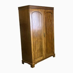 Antique Wardrobe with Double Arch Panel Doors