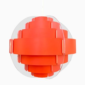 Danish Pendant Lamp by Flemming Brylle & Preben Jacobsen, 1960s