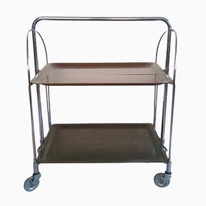German Folding Trolley Table Bar from Gerlinol, 1960s