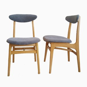 Dining Chairs by Rajmund Teofil Halas, 1960s, Set of 2
