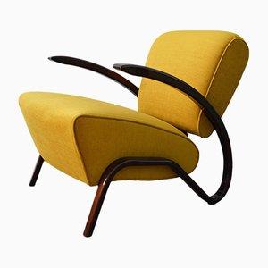 Art Deco H-275 Armchair by Jindřich Halabala
