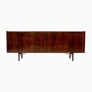 Danish Rosewood Tambour Sideboard by Ib Kofod-Larsen for Brande Møbelindustri, 1960s