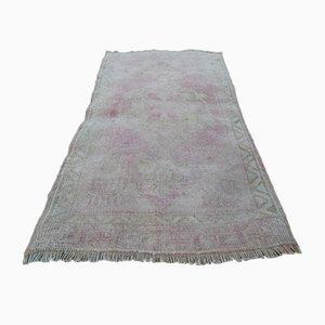 Kleiner Vintage Yastik Teppich