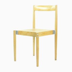 Chaise en Bois par Miroslav Navratil pour Bukoza, 1960s