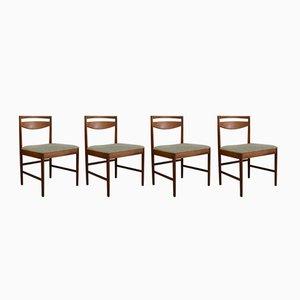 Mid-Century Esszimmerstühle von McIntosh, 1970er, 4er Set